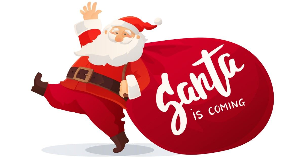 Santa Is Coming To The Opera House Event Page Banner