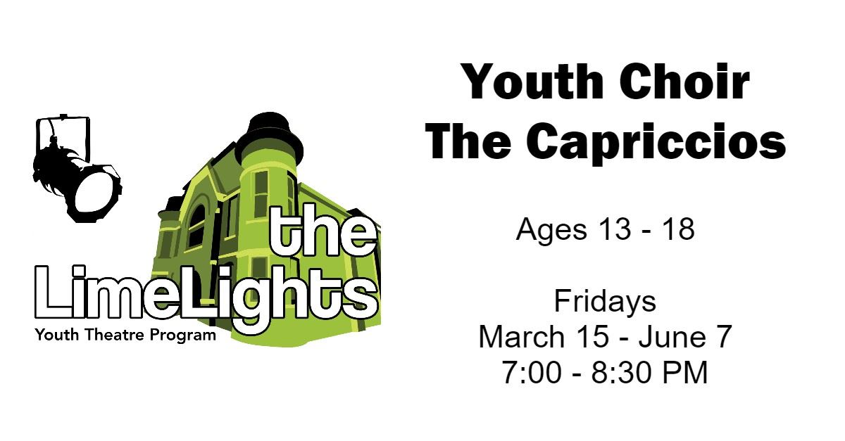 Youth Choir - The Capriccios Page Banner