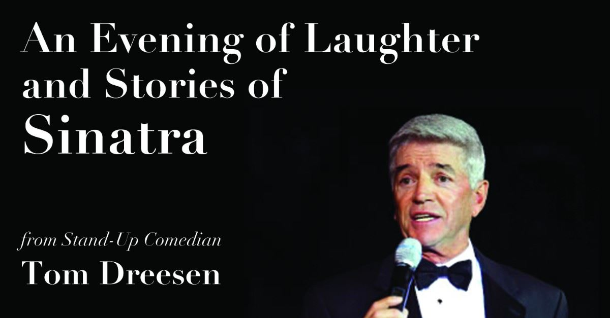 Evening of Laughter and Stories of Sinatra Event Page Banner
