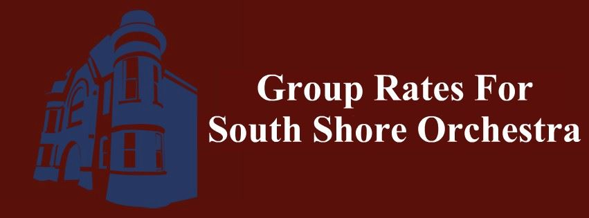 Group Rates For South Shore Orchestra Concerts Page Banner