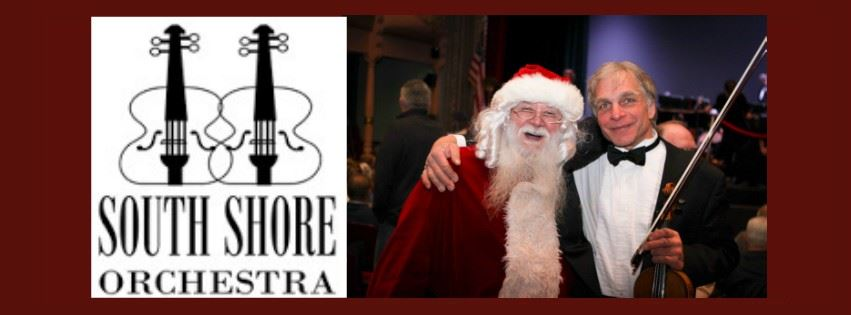 South Shore Orchestra Holiday Pops Concert Event Page Banner
