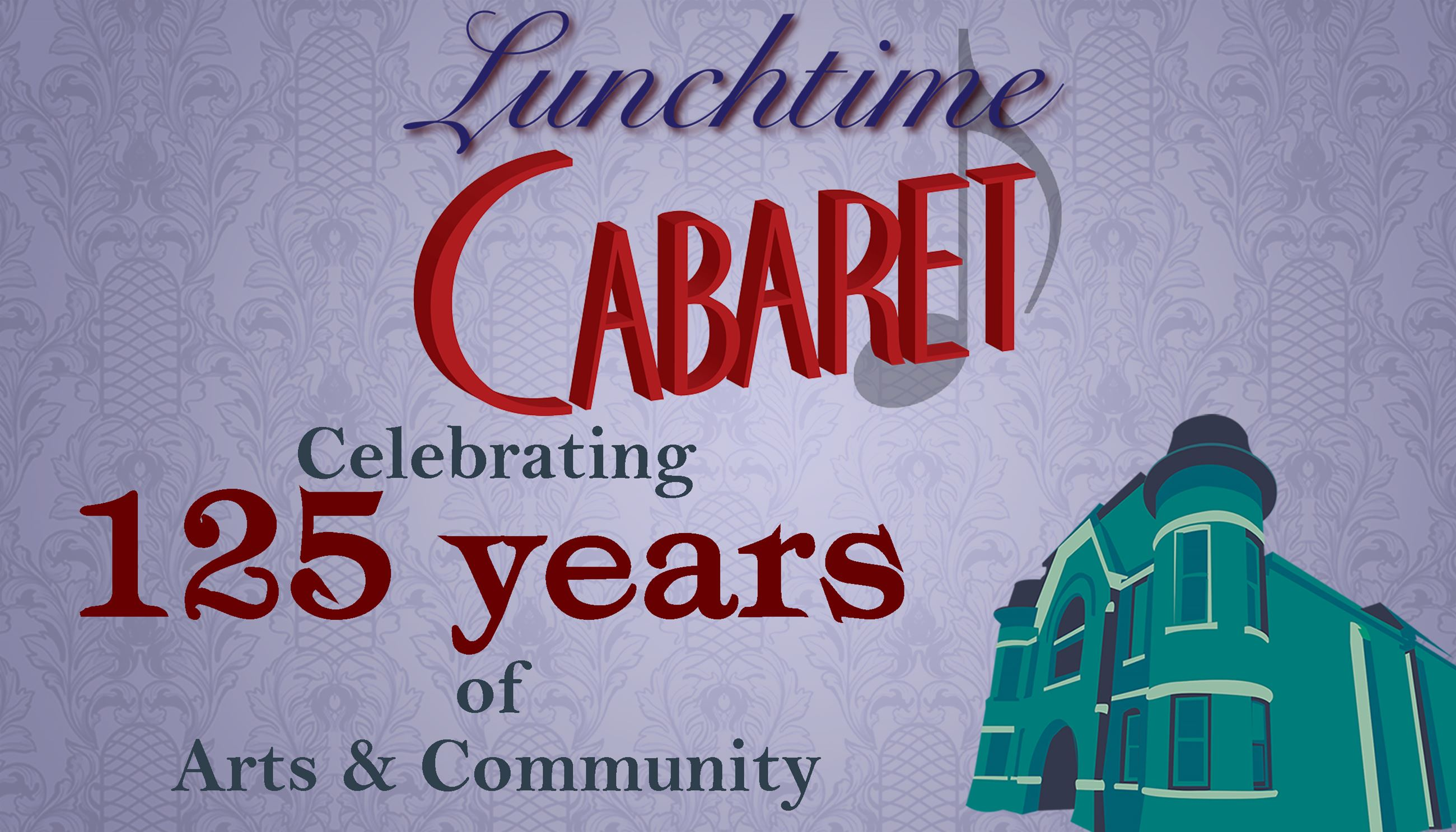 Lunchtime Cabaret 2018 Season Subscription Posters