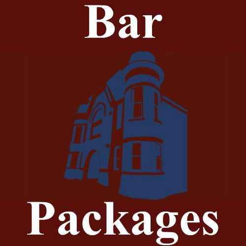 CLICK HERE For More Information About Our Bar Packages