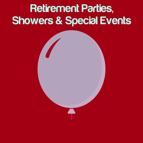 Retirement Parties, Shower & Other Special Events Logo