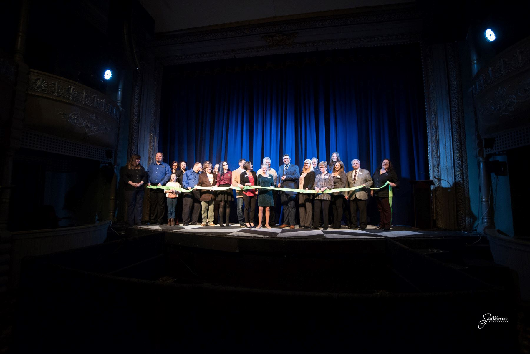 Photo from the February 15 Grand Re-Opening of the Memorial Opera House celebrating our 125th annive